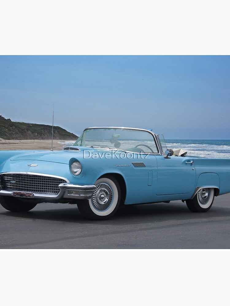 1957 Ford Thunderbird 'Blue Baby' by DaveKoontz