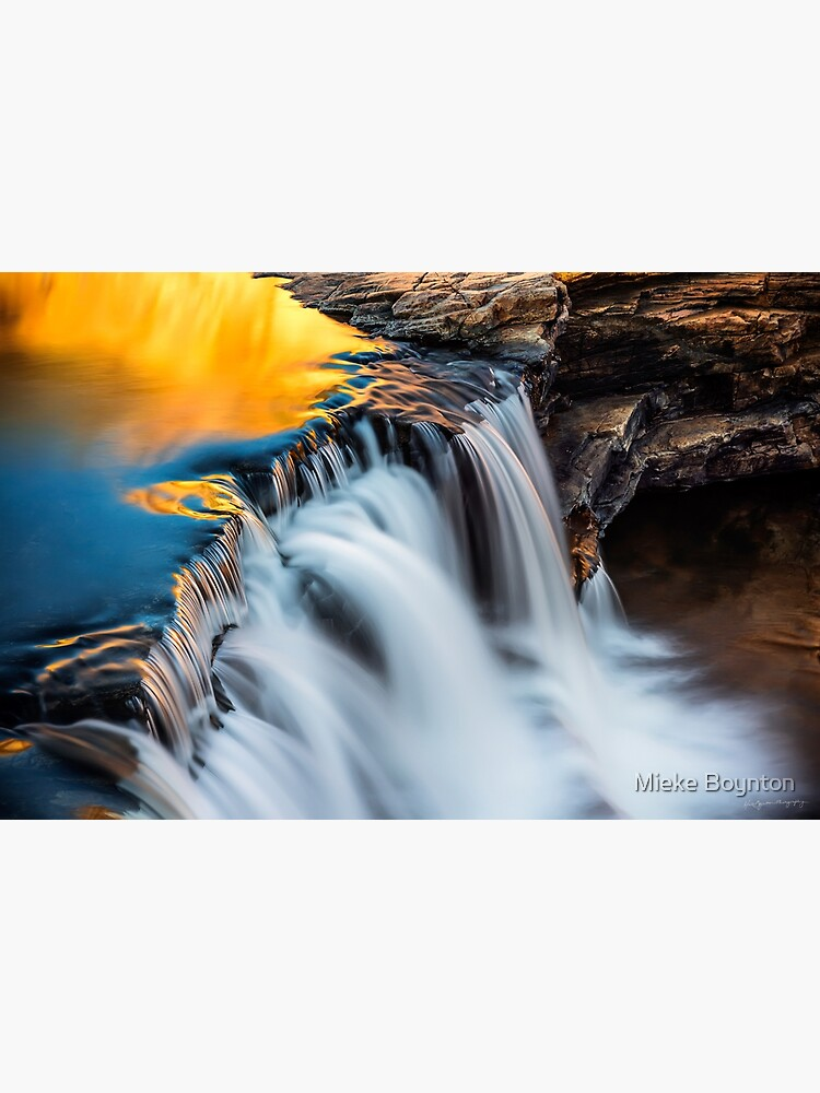 Molten Gold (Bell Gorge) by miekeb