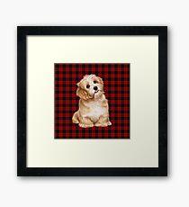 Tartan Dog 2 Framed Print