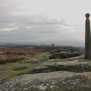 Nelson's monument Birchen Edge by derbyshireduck