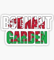 Wales Bodnant Garden Sticker