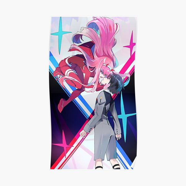 Darling in the Franxx: Hiro & Zero Two Poster