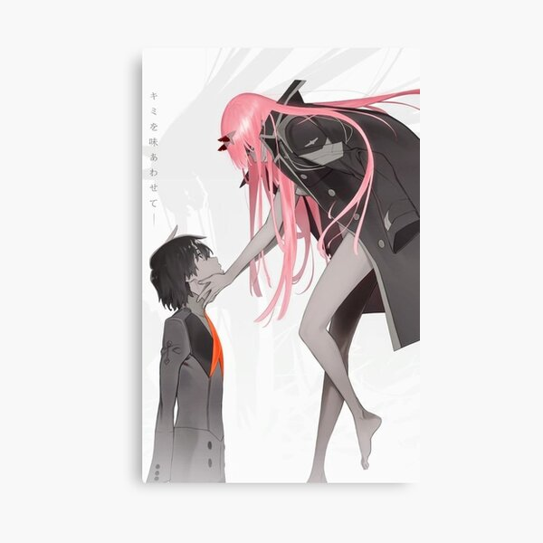 Darling in the FranXX: Hiro and Zero Two Canvas Print