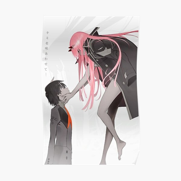 Zero Two Posters Redbubble