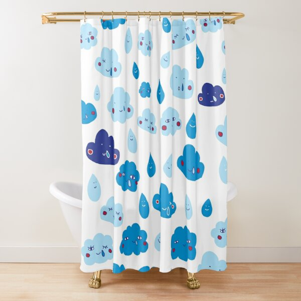 Rain, with a chance of... Shower Curtain