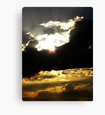 Photo- Ray of hope Canvas Print