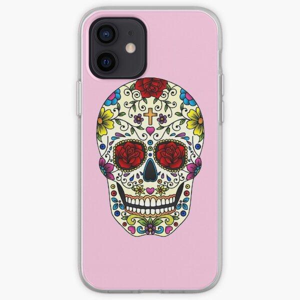 Sugar Skull iPhone Soft Case