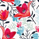 Ruhi #pattern #illustration by 83oranges
