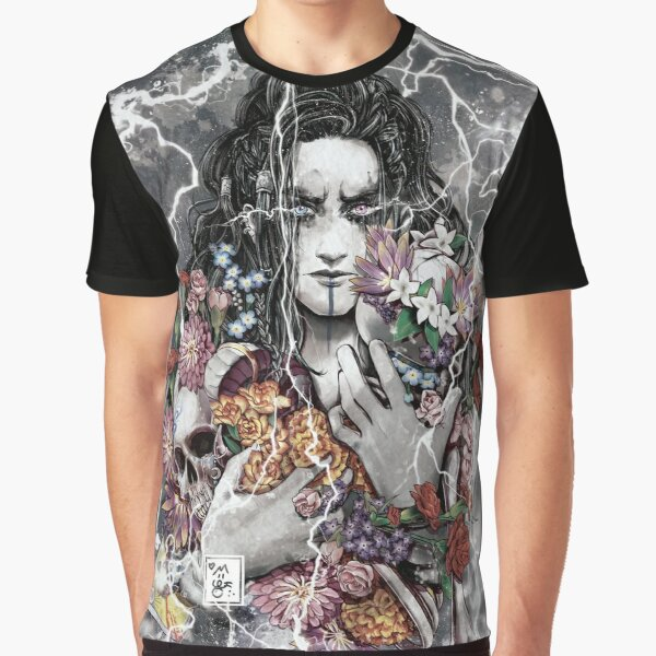 9 Flowers for Yasha Graphic T-Shirt