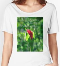 In An Endless Garden Of Flowers I Will Always Pick You Women's Relaxed Fit T-Shirt