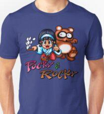 Pocky & Rocky - SNES Title Screen T-Shirt