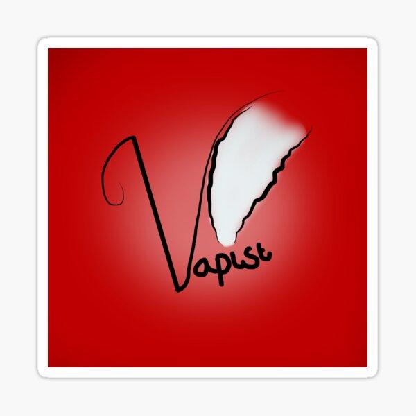 Vapist (Red) Sticker