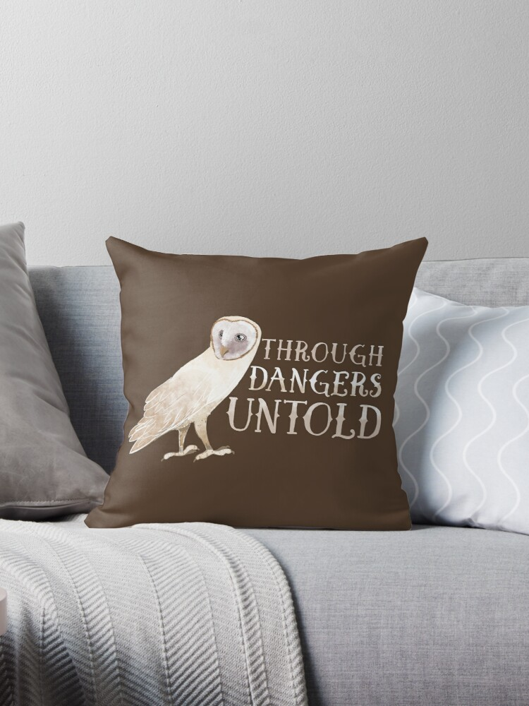 Through dangers untold white barn owl by jazzydevil