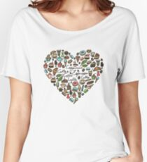 Coffee and pastry Women's Relaxed Fit T-Shirt