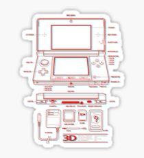 3DS Sticker