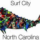 Surf City Mahi by barryknauff