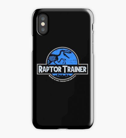 Jurassic World Raptor Trainer iPhone Case/Skin