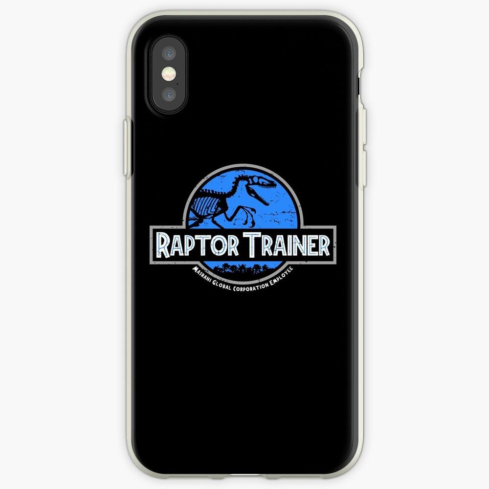 Jurassic World Raptor Trainer Funda y vinilo para iPhone