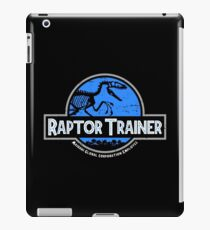 Jurassic World Raptor Trainer iPad Case/Skin