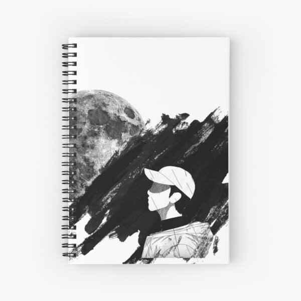 BTS RM Mono Spiral Notebook