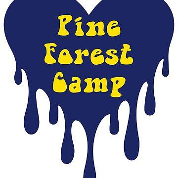 Pine Forest Camp sticker; PFC sticker by dddesignsnj