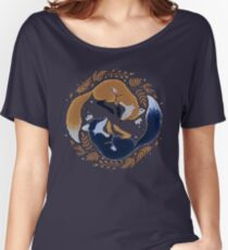 Night foxes Women's Relaxed Fit T-Shirt