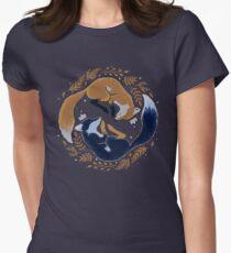 Night foxes  T-shirt col V femme