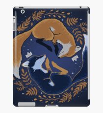 Night foxes iPad Case/Skin