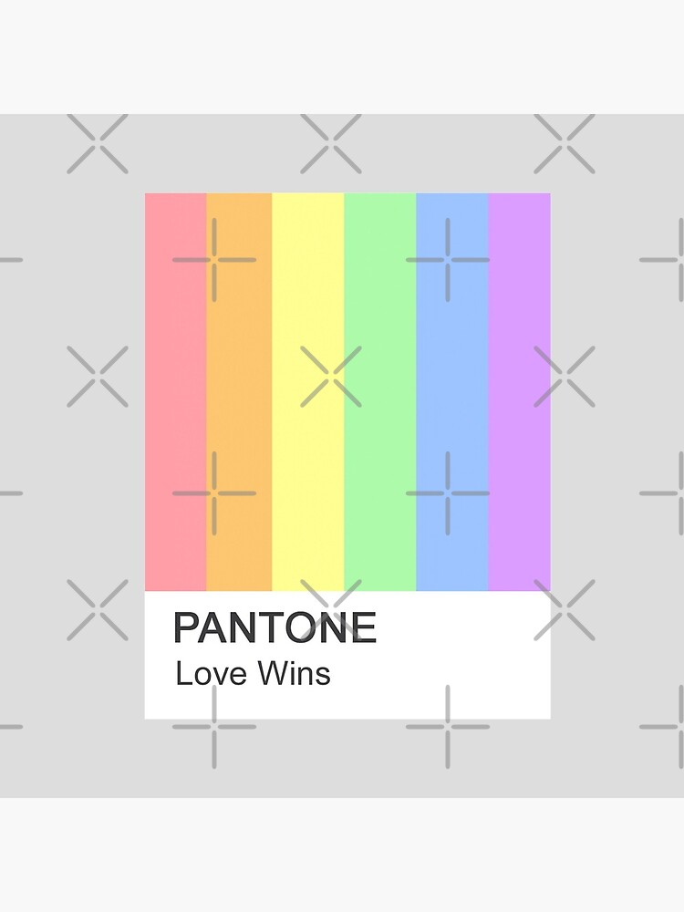 Love Wins Pantone by moderntimes