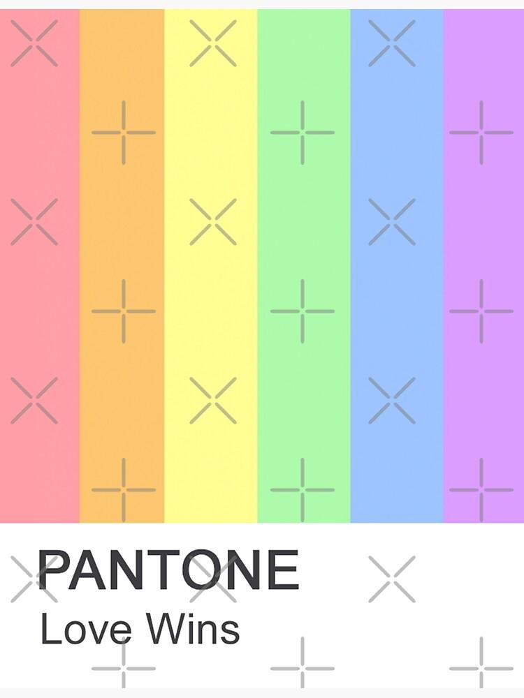 Liebe gewinnt Pantone von moderntimes