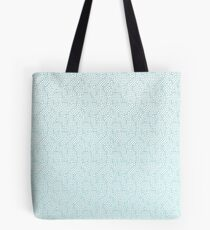 Abstract Computer Chips Pattern Tote Bag