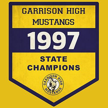 1997 Mustangs State Champions von mctees