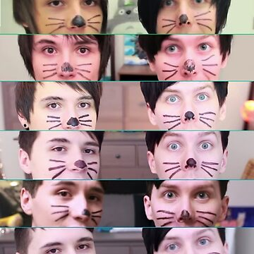Danisnotonfire and AmazingPhil - 10 Years of PINOF by CinderTrack