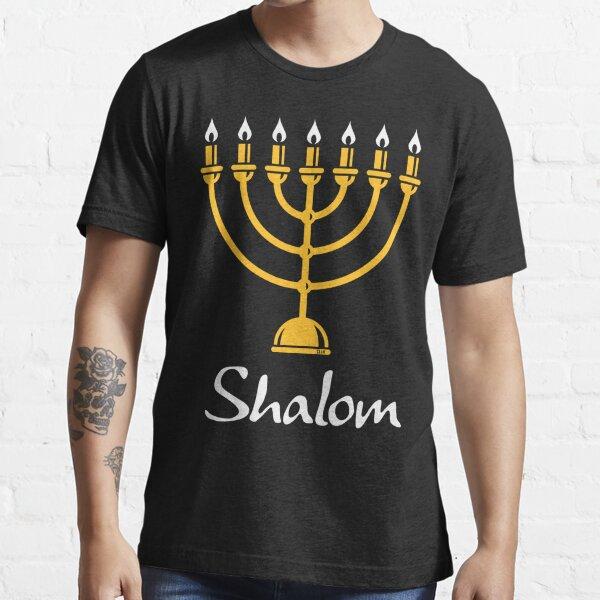 Shalom (Menorah / Judaism / 2C) Essential T-Shirt