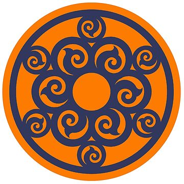 Asian Circular Swirls by procrest