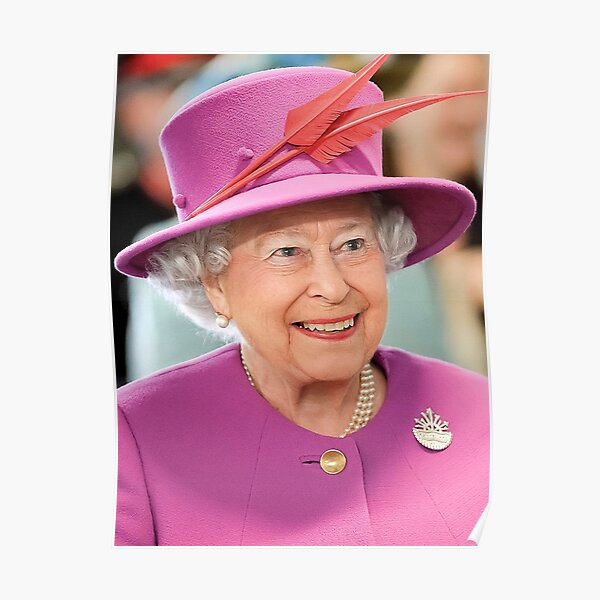 Queen Elizabeth II. Queen of the United Kingdom and the other Commonwealth realms. Poster