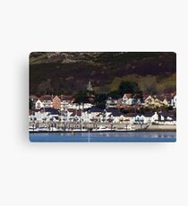 Deganwy, across from Conwy, North Wales Canvas Print