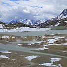 Glaciers on the Bernina Pass  by Lilian Marshall
