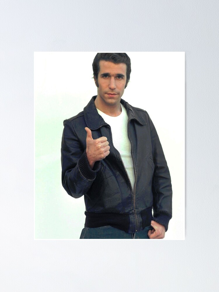 Alternate view of The Fonz Poster