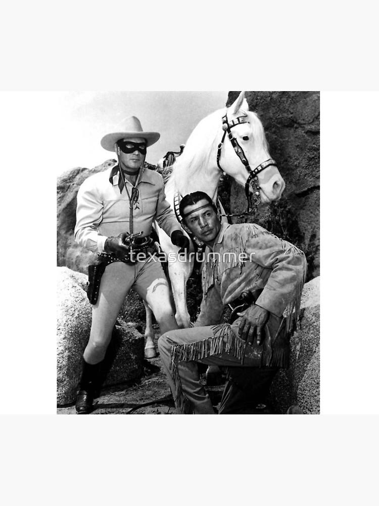 Lone Ranger & Tonto by texasdrummer