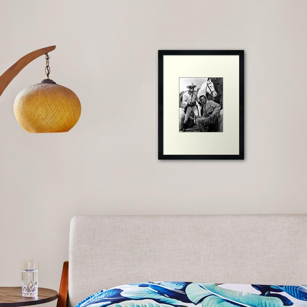 Lone Ranger Framed Art Print