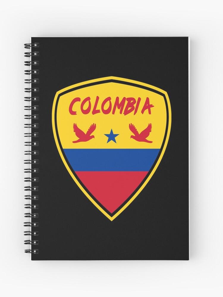 Cuaderno De Espiral Bandera Nacional Escudo De Armas De Colombia De Rocky2018 Redbubble