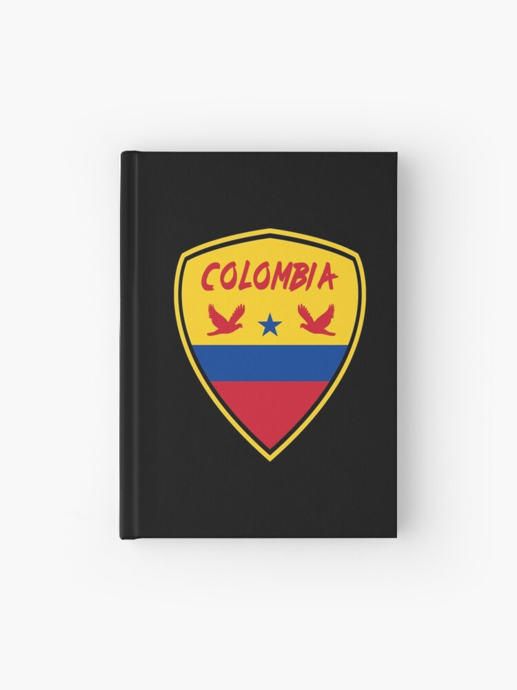 Cuaderno De Tapa Dura Bandera Nacional Escudo De Armas De Colombia De Rocky2018 Redbubble