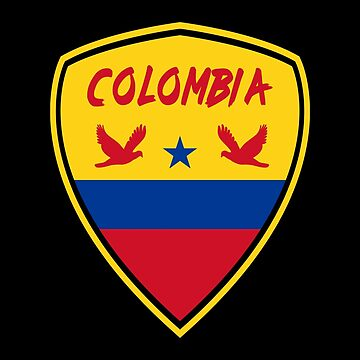 Colombia Coat of Arms / Gift Bogota National Flag by Rocky2018