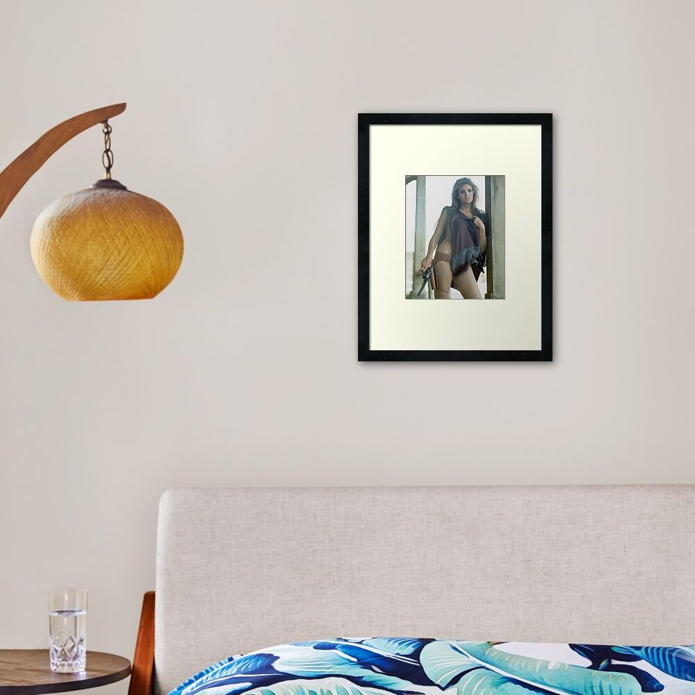 Raquel Welch Framed Art Print