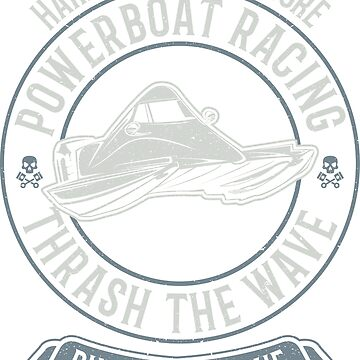 Powerboat Racing Wave Thrash by offroadstyles