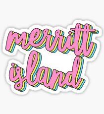 merritt island Sticker