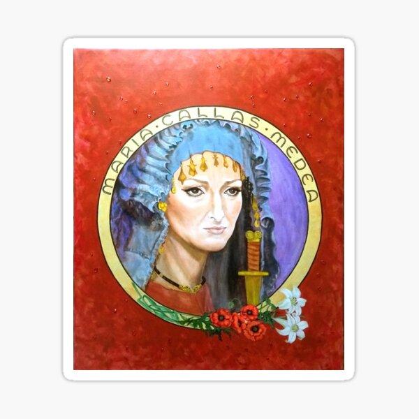 Maria Callas Diva * Medea Sticker