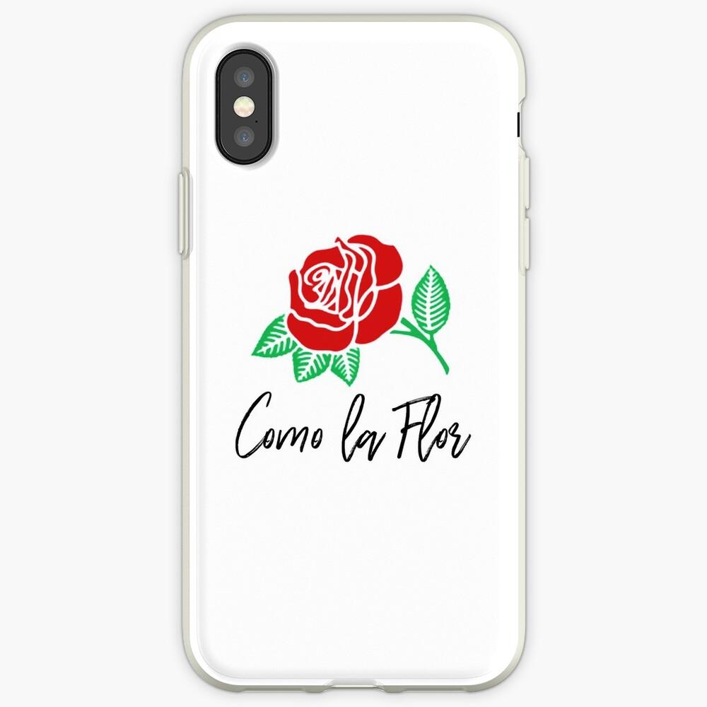 """""""Como la Flor"""" Selena Quintanilla iPhone Cases & Covers"""