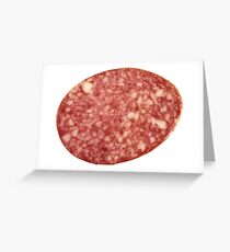 SALAMI Greeting Card